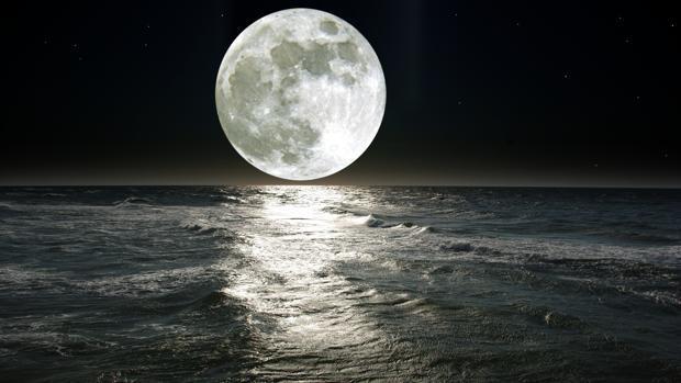 NASA Luna Mareas