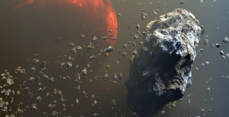 Objetos Rojos Asteroides