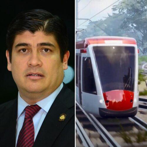 Carlos Alvarado Tren Eléctrico