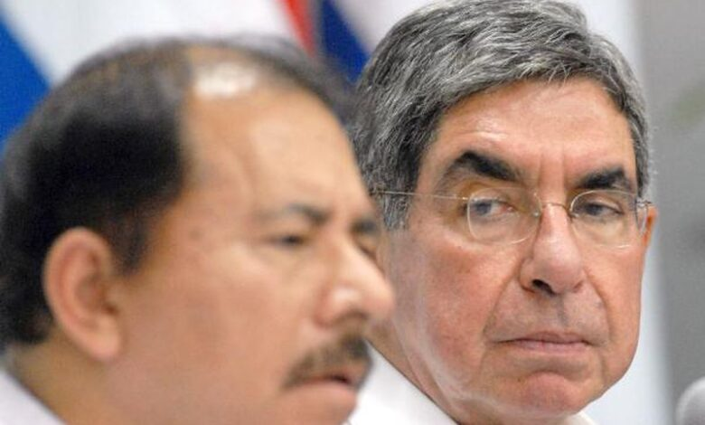 Oscar Arias Daniel Ortega